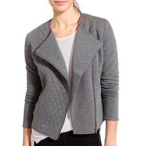 NWT Athleta Belvedere Quilted Moto Jacket